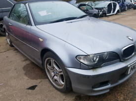 Breaking spares parts bmw 3 series e46 convertable cabriolet