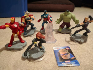 Disney Infinity Characters World Discs BIG SET priced as marked