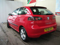 Seat Ibiza 1.4TDI 2008 Sport**ZERO DEPO FINANCE AVAILABLE** 3 MNH FREE WARRANTY
