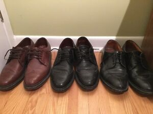 Mens Dress Shoes  - Wing Tipped Oxfords Broques Allen Edmonds