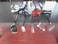 Bois #1 TaylorMade SLDR, Wedge Nike, Putter Odyssey + TaylorMade