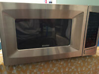 Stainless Steel Kenmore Microwave - Rotating Plate - As New