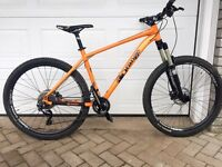 Orange Clockwork 120 S Trek Specialized kona GT giant felt Norco cube boardman
