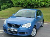 2006 Volkswagen Polo 1.2 S 55 3dr *** 12 MONTHS MOT - LOW MILES - HPI CLEAR*** H