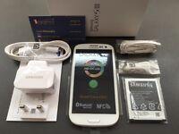 Brand new sim free original Samsung Galaxy S3 sealed box with full accessories on sale