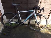 Planet X London road cross trail road bike