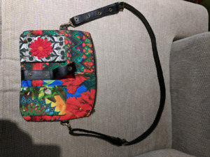 Desigual purse, colourful patterns and designs