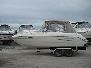 2004 Stingray 240 CR with trailer  $34,900