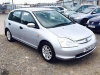 2003/03 Honda Civic 1.7i CTDi Imagine LONG MOT EXCELLENT RUNNER