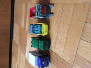 Matchbox garbage trucks rear loaders and front loaders
