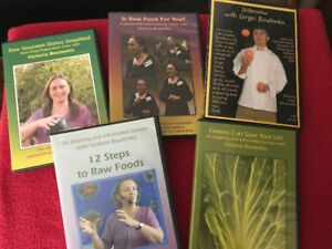 Raw Food & Health DVD Sets - Variety to choose from