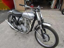 BSA ZB34 GOLD STAR MANUFACTURE DATE 1954 (SEE DISCRIPTION
