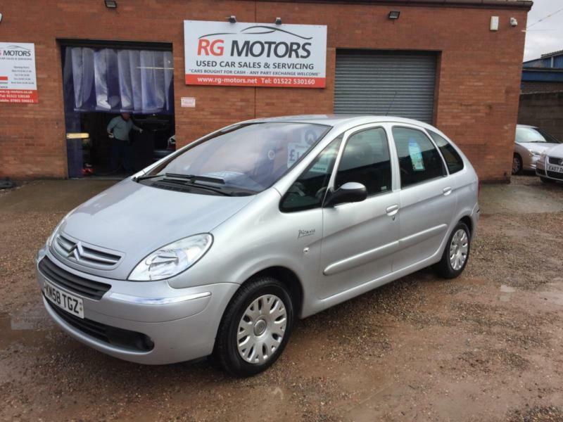 2008 58 citroen xsara picasso 1 6 hdi 92bhp desire. Black Bedroom Furniture Sets. Home Design Ideas