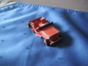 Dinky Jeep #25Y - With Tow Hook - Manufactured from 1952-1953
