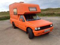 Vauxhall brava campervan
