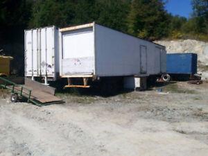 Remorque trailer 45 pieds