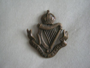 British Army The Connaught Rangers Brass Kings Crown Cap Badge Gatineau Ottawa / Gatineau Area image 1