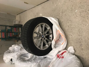 Used Winter Tires and Rims from 2007 5 series.