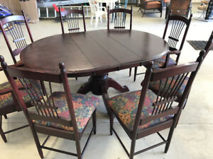 Beautiful Cherrywood Dinette Set for Sale