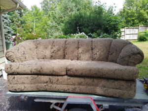 Beautiful  Curved Chesterfield