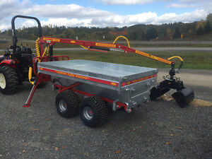 4x4 Log trailers and loaders for your ATV starting at $249.00/M St. John's Newfoundland image 5
