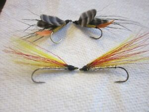 12 Hand tied streamers and wet flies  { free shipping }
