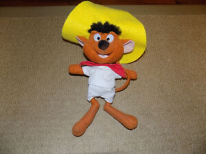 SPEEDY GONZALEZ, LOONEY TUNES, STUFFED ANIMAL