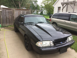 1992 Ford Mustang Hatchback supercharged