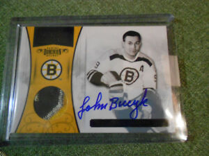 Autograph- Bourque/ Bucyk/Bobby Orr Boston Bruins  Hockey Cards