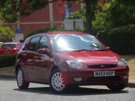 Ford Focus 1.6i 16v 2004 Ghia + 1 LADY OWNER +FSH +CAMBELT DONE!!