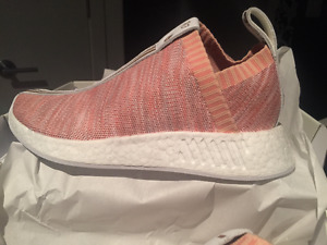 Adidas x KITH x Naked NMD CS2 PINK Size 6 DS