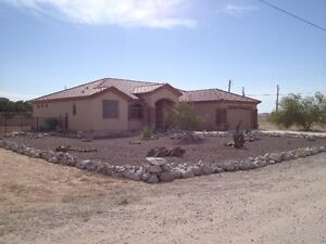 Rancher on one acre, full furnished.  2,200 SF  Newer Home