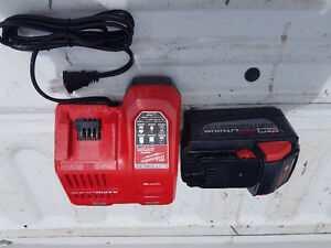 Brand new milwaukee 9.0ah battery and charger