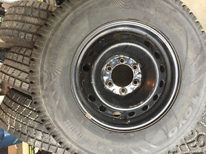 Toyota Tacoma or 4Runner winter tires and rims
