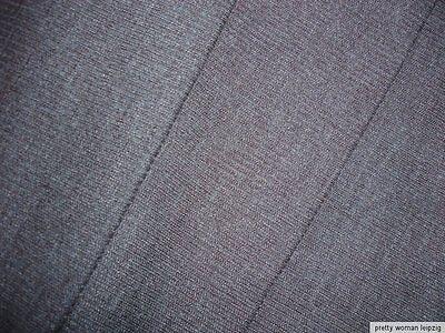 1 Lfm Schlauchstoff 5,70€/m² Strickschlauch Wolle Rippstrick grau PC53