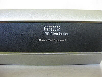 6502 Symmetricom Rf Distribution 6 Month Warranty