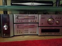 Technics amp, speakers and stands