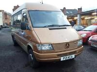 Mercedes-Benz 412D 2.9TD + LWB + HIGH ROOF + TWIN WHEELS