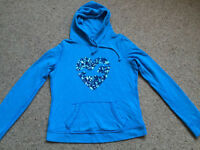 Hollister hoody size L (10-12)