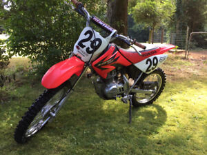 Honda CRF 100 dirt bike