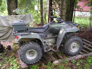 ATV's  honda 4 trax 250 & kawi bayou 350 both good shape