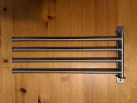 IKEA 4 Tier Moveable Towel Rail