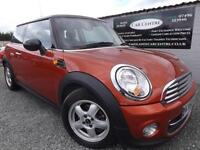 2010 60 MINI HATCH COOPER 1.6 COOPER 3D 122 BHP PETROL ORANGE