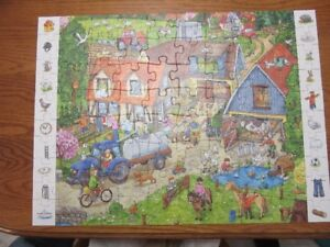 Ravensburger Childrens Look & Find Farm  Puzzle