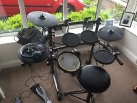 Roland TD-6V electronic drum kit.