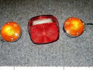 rear brake  and flasher lights