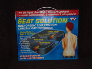 Deluxe Orthopedic Seat Cushion