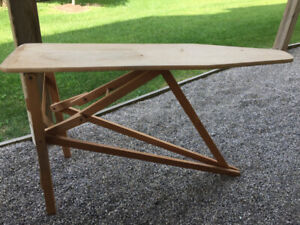 Wooden Ironing Board Kijiji In Ontario Buy Sell Save With