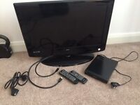 26 inch LCD TV and DVD player