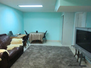 For rent furnished basement room for women only